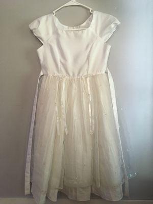 Girls Baptism or wedding dress (girls size 8) for Sale in Centerville, UT