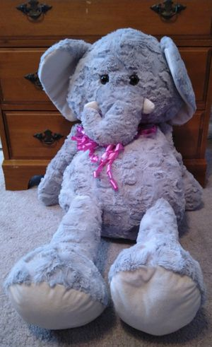 Large Elephant Stuffed Animal for Sale in West Sacramento, CA
