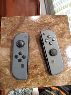 Nintendo switch Joy cons (gray) for Sale in Fairfax, VA