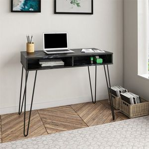 Black Marble Writing Desk Home Office Furniture for Sale in Los Angeles, CA