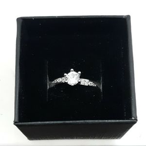 Size 7 BRAND NEW Women Wedding band Engagement Ring CZ silver for Sale in Bridgeville, PA
