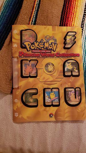 POKEMON RARE Pikachu World Collection Promo Set Pikachu World Collection Promos Opened Mint Condition for Sale in Seattle, WA