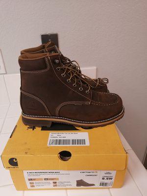 Brand new carhartt work boots for men. Size 9.5. Soft toe. Waterproof for Sale in Riverside, CA