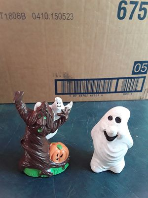2 Holloween figurines. for Sale in Linden, PA