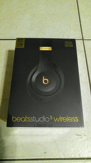 Beats Studio 3 Wireless Shadow Grey for Sale in Tampa, FL