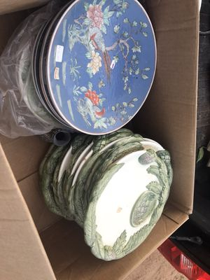 Antique Fine China $13 Plate for Sale in Fairburn, GA