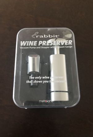 Rabbit Wine Preserver for Sale in Miami, FL