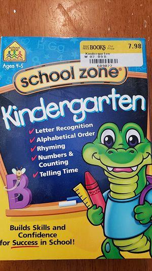School Zone Kindergarten computer program, 2 CD set, never opened for Sale in Pittsburgh, PA