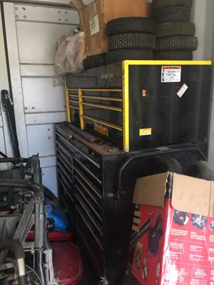 Snap on toolbox and various tools FOR SALE for Sale in Kailua-Kona, HI