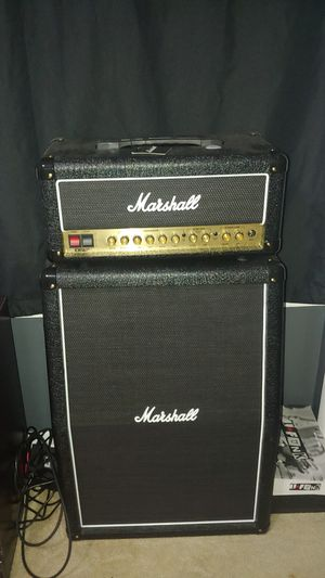 Marshall dsl20hr amp with cabinet for Sale in Kennewick, WA
