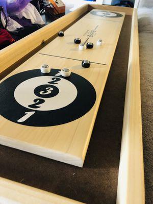 Shuffleboard Game Board Like New for Sale in Alexandria, VA