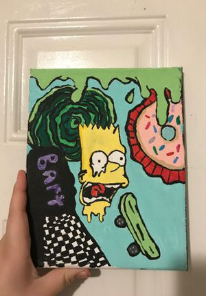 Bart Simpson paintin for Sale in Durham, NC