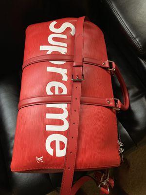 Supreme Louis Vuitton duffle bag for Sale in Dallas, TX