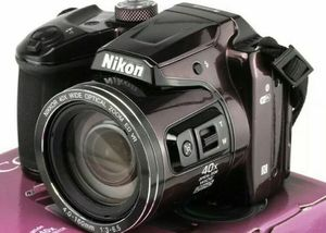 Nikon COOLPIX B500 Digital Camera Plum / Plum Excellent Condition. WIFI for Sale in Lowellville, OH