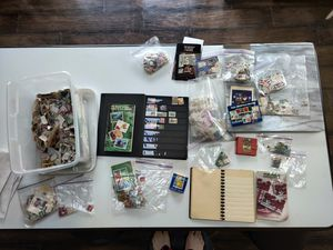 LARGE MISCELLANEOUS VINTAGE STAMP COLLECTION! for Sale in Puyallup, WA