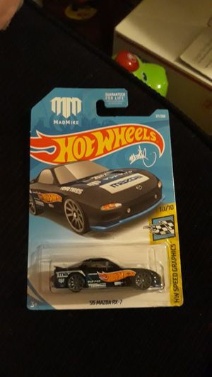 Hot Wheels 2017 mad mike '95 MAZDA RX -7 for Sale in Modesto, CA