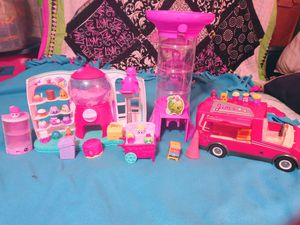 SHOPKINS Candy Store and Food Truck Food Cart and More for Sale in Dallas, TX