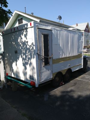 Trailer good shap. 5 lug rims brand new 15 inch tires. for Sale in Johnston, RI