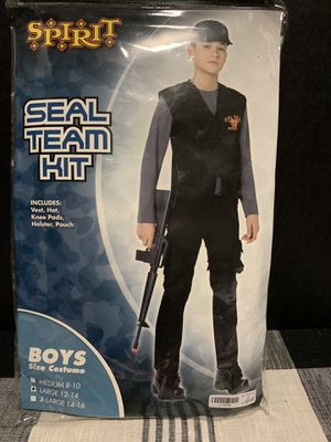 Military Halloween Costume Seal Team Child's Large Size 12-14 for Sale in New Port Richey, FL