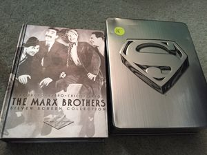 The Marx brothers or Superman ultimate dvd collection for Sale in Pembroke Pines, FL