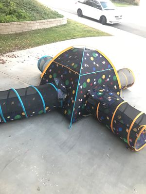 Kids tent with tunnels for Sale in Riverside, CA