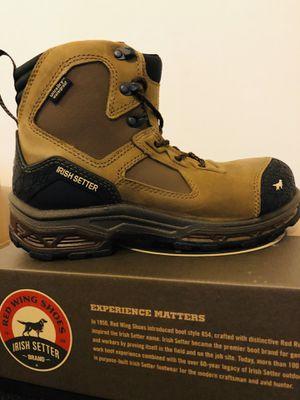 Irish Setter - Irish Setter 83636 - Men's - Kasota - Irish Setter 6 inch - Waterproof - Composite Toe Work Boot (size 8) for Sale in Philadelphia, PA