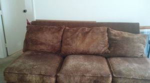 Brown sectional couch very comfortable for Sale in Phoenix, AZ