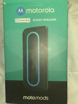 Moto Z smart speaker w/ Alexa for Sale in Phoenix, AZ