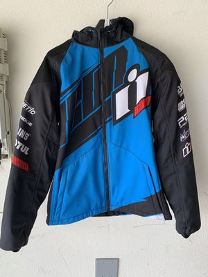 Icon team merc textile motorcycle jacket xl for Sale in Murrieta, CA