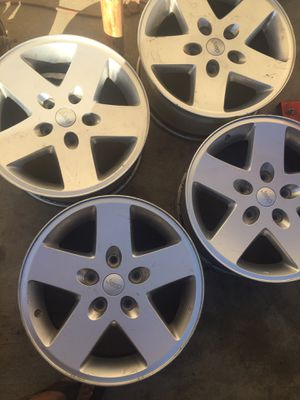 Jeep wheels r17 for Sale in Corona, CA