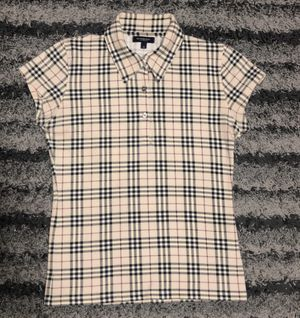 Burberry women nova check polo size small for Sale in Raleigh, NC