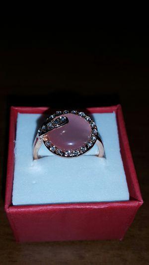 Pink Moonstone 18k Rose Gold Ring 9 for Sale in Tavares, FL