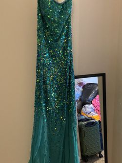 Blue Sequins Dress for Sale in Denver,  CO