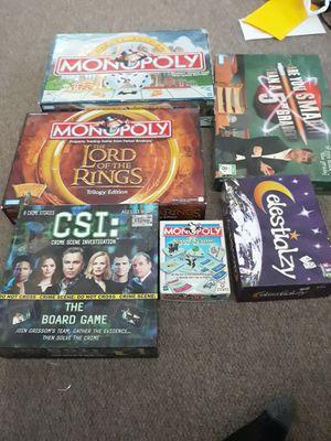Board games for Sale in Kearns, UT
