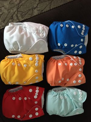 Cloth Diapers - newborn for Sale in Colorado Springs, CO