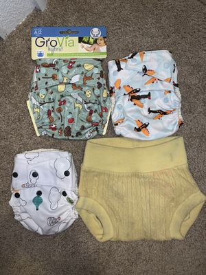 Grovia diaper covers and prefolds for Sale in Gilbert, AZ