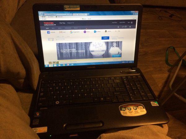 Almost new toshiba laptop