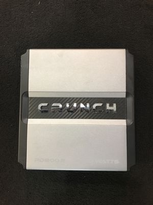 Crunch Amplifier 800 W for Sale in Cleveland, OH