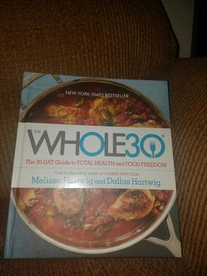 Whole 30 Book for Sale in Cashmere, WA