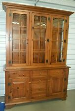 Ethan Allen Country Craftsman Hutch and Buffet for Sale in Spring Hill, FL