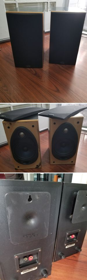 Polk audio RT351 power port studio monitor speakers for Sale in Long Beach, CA
