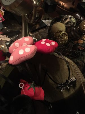 Minnie mouse headband ears Mickey and Minnie for Sale in Hesperia, CA