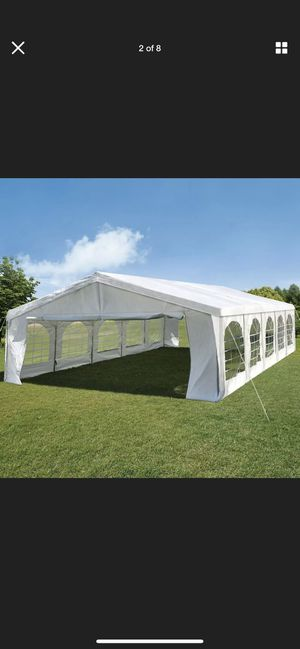 Peaktop 32x20 party tent event shelter canopy for Sale in Rancho Cordova, CA