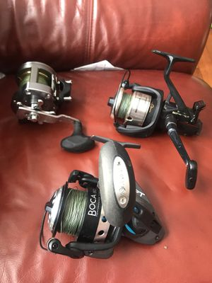 High end fishing reels for Sale in Derry, NH