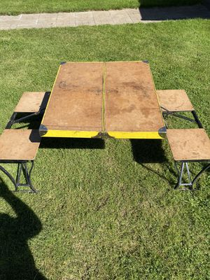 Camp table for Sale in Oregon City, OR