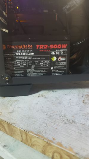 500w Power supply Thermaltake for Sale in Livermore, CA