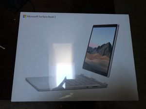 Microsoft surface book 3 13.5 for Sale in Puyallup, WA