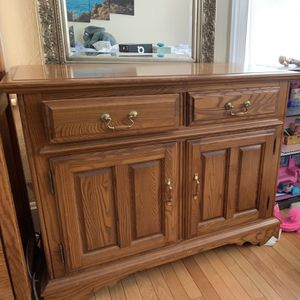 Desk Furniture Buffet Table Cabinet for Sale in Newton, MA