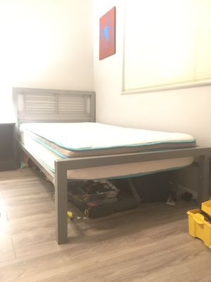 Brand new mattress with frame Twin Bed for Sale in Fresno, CA