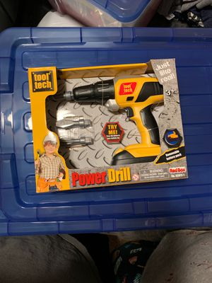 Tool Tech Power Drill with Lights and Sounds3 Drills, 3+ YearsBNIB for Sale in Bakersfield, CA
